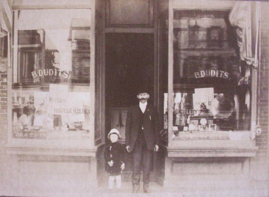 bela dudits 1910