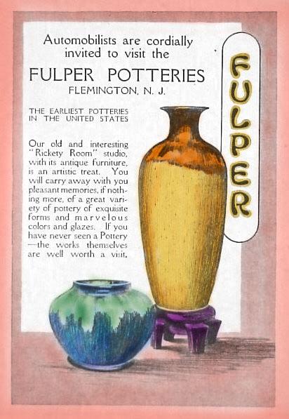 Fulper Pottery Artware Flemington Nj